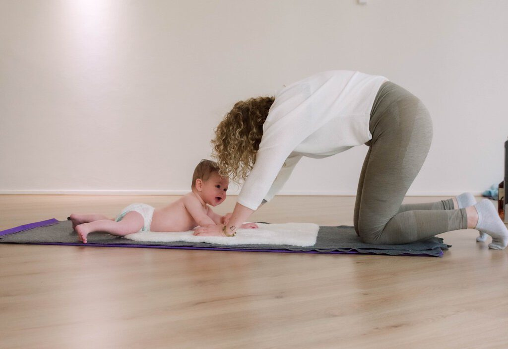 Praktijk Viva La vida - impressie foto mama en baby